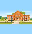 muslim school vector image