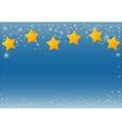 Starry Sky vector image
