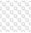 Speech bubble pattern seamless vector image vector image