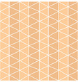Seamless pattern with circles and line pattern vector image