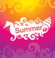 summer 01 vector image