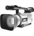 3D of a semi-professional video camera vector image vector image