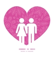 pink abstract flowers texture couple in love vector image