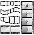 Set of film vector image