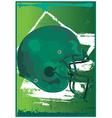 Gridiron helmet vector image