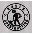 Under contrusction design vector image