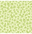 Ivy plants seamless pattern background vector image vector image
