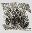 Blackhills sturgis motorcycle vector image vector image