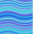 Blue colored abstract wave background design vector image