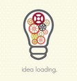 idea loading vector image
