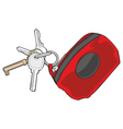key holder vector image vector image