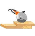 Electric tools cutter vector image