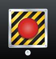 alarm button vector image