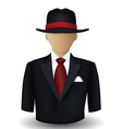 Mobster avatar vector image