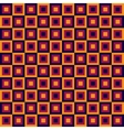 Seamless geometric pattern with squares vector image