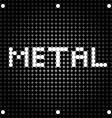 metal dots vector image
