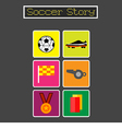 Soccer Story 2 vector image