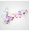 Note music vector image