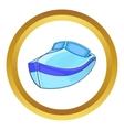 Powerboat icon vector image
