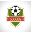 Sports soccer football badge vector image