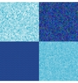 blue texture of hexagons vector image
