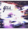 noise and glitch background vector image