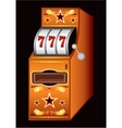 Casino machine vector image vector image