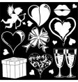 valentines day collection vector image