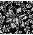 Flowers amarylis set 2 grunge vector image vector image