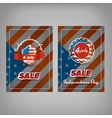Independence day sale vector image