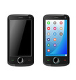 Mobile communicator vector image