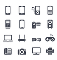 Technology and Devices Icon vector image vector image