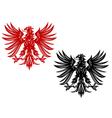 eagles heraldry vector image