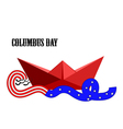Columbus Day vector image