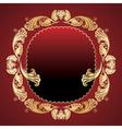 golden elegance vector image