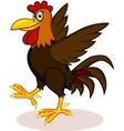 rooster cartoon vector image