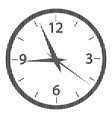 Clock sign on white vector image