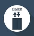 Elevator design vector image