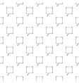 Speech bubble pattern seamless vector image