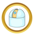 Observatory icon vector image