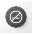do not smoke icon symbol premium quality isolated vector image
