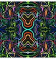psychedelic seamless pattern vector image vector image