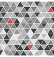 Geometrical seamless pattern with triangles vector image