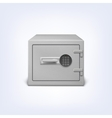 Safe with electronic lock vector image vector image