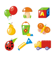 childrens set vector image vector image