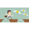 Man in search of money Stock vector image