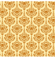 damask decorative wallpaper vector image vector image
