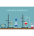 laboratory experiment vector image