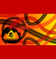 bmx background design vector image