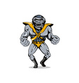 Villain Alien Monster Angry vector image vector image